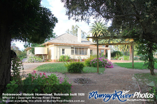 Robinswood Historic Homestead, Robinvale built 1926