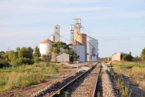 Manangatang Wheat Silos