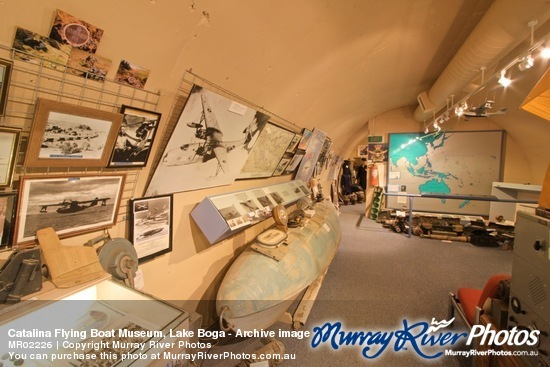 Catalina Flying Boat Museum, Lake Boga - Archive image