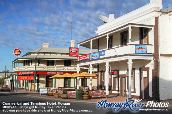 Commerical and Terminus Hotel, Morgan