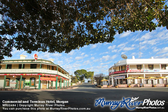 Commercial and Terminus Hotel, Morgan