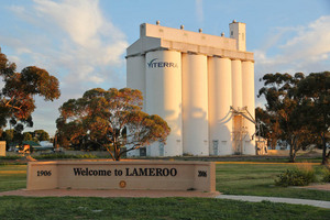 Lameroo Wheat Silos, South Australia