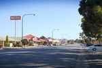 Main road of Meningie, South Australia