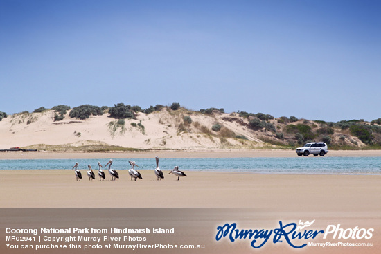 Coorong National Park from Hindmarsh Island