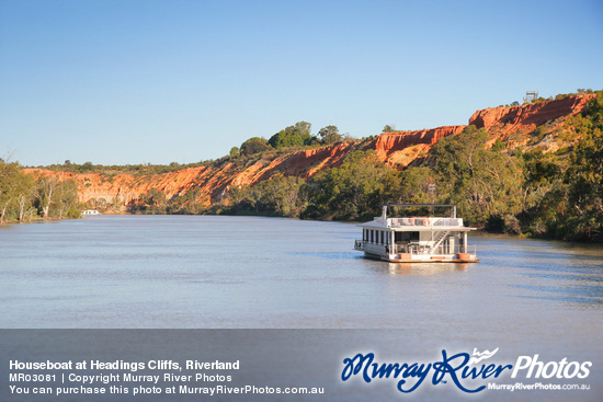 Houseboat at Headings Cliffs, Riverland