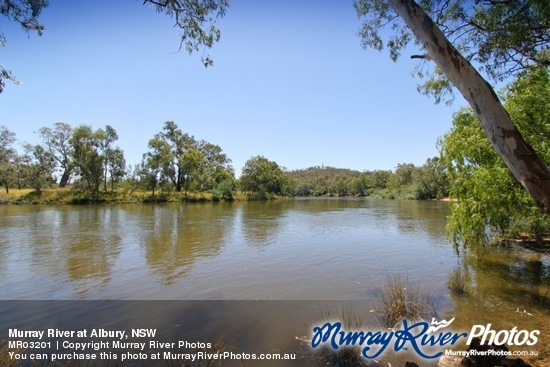 Murray River at Albury, NSW