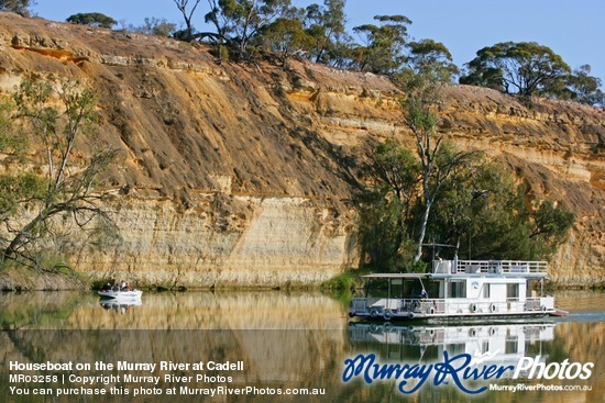 Houseboat on the Murray River at Cadell