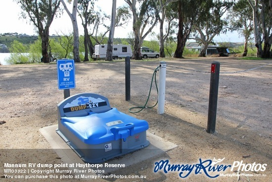 Mannum RV dump point at Haythorpe Reserve