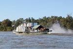 PS Oscar W blow down at the Murray Darling Confluence
