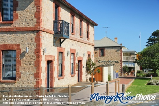 The Australasian and Corio Hotel in Goolwa