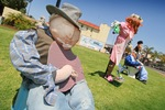 Scarecrow competition from local primary schools in Renmark