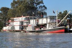 PS Marion and PS Industry moored at Renmark, South Australia