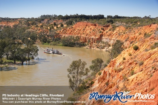 PS Industry at Headings Cliffs, Riverland
