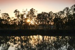 Sunrise on the Murray River at Kingston-on-Murray