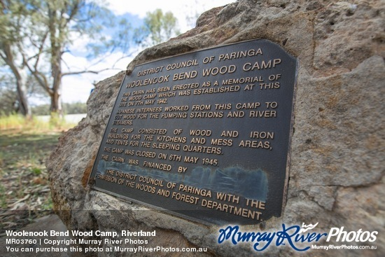 Woolenook Bend Wood Camp