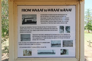 From WAAAF to WRAAF to RAAF, Tocumwal