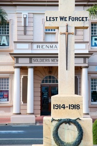 Renmark War Memorial and Hall, South Australia