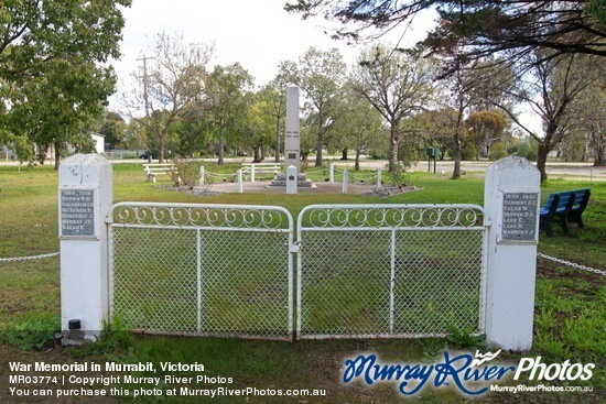 War Memorial in Murrabit, Victoria