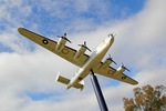 Replica B-24 Bomber from WWII at Tocumwal Golf Club, NSW