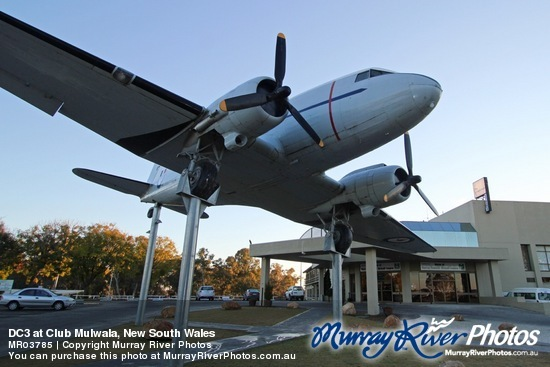 DC3 at Club Mulwala, New South Wales