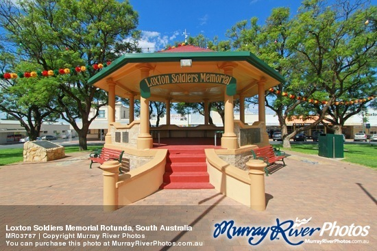 Loxton Soldiers Memorial Rotunda, South Australia