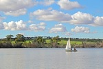 Sailing in Swanport, Murray Bridge