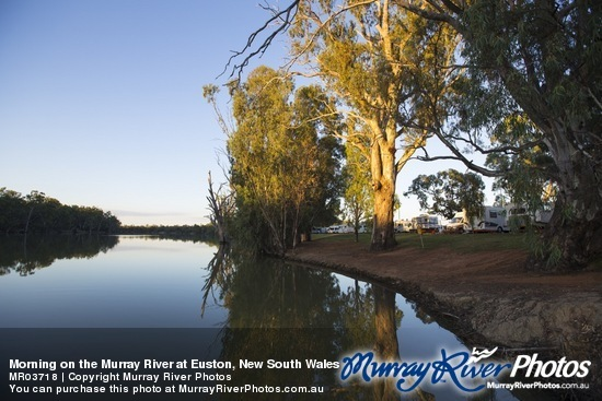 Morning on the Murray River at Euston, New South Wales