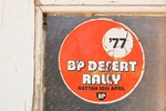 Old school stickers from the Mallee BP Desert Rally
