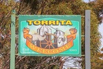 Torrita (Little Emu) town sign, Victoria