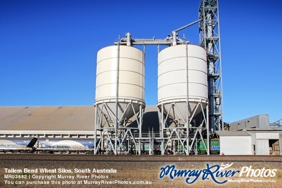Tailem Bend Wheat Silos, South Australia