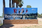 Barmera town entrance sign