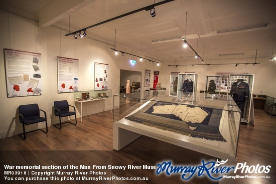 War Museum in the Man From Snowy River Museum