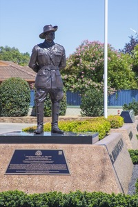 Captain Albert Borella VC Monument, Albury, NSW