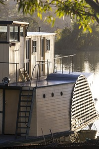 Paddleboat Cato at Murray Bridge, South Australia