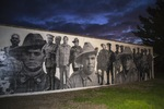 Ngarrindjeri Anzacs from WWI mural at Meningie