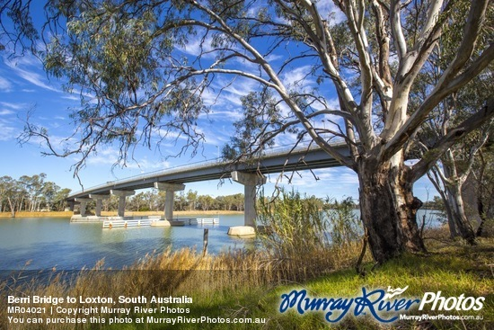 Berri Bridge to Loxton, South Australia