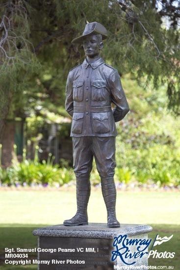 Sgt. Samuel George Pearse VC MM, Henderson Park, Mildura War Memorial