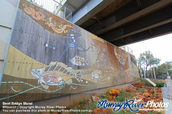 Berri Bridge Mural