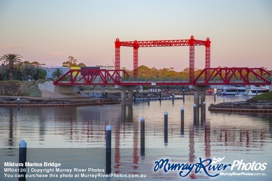 Mildura Marina Bridge