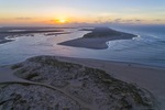 Sunrise over the Murray River Mouth near Goolwa