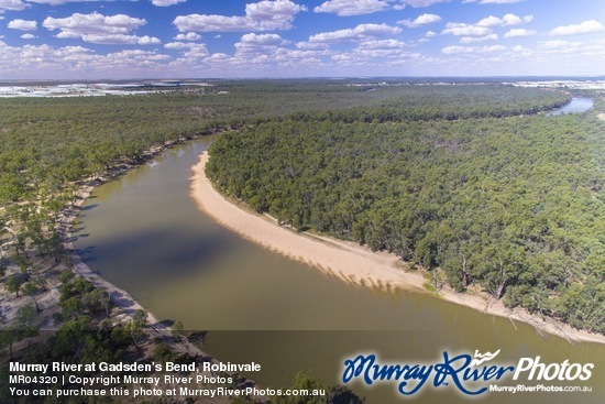 Murray River at Gadsden's Bend, Robinvale