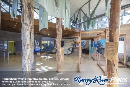 Torrumbarry Weir Interpretive Centre, Echuca, Victoria