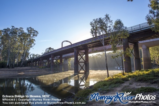 Echuca Bridge to Moama, NSW