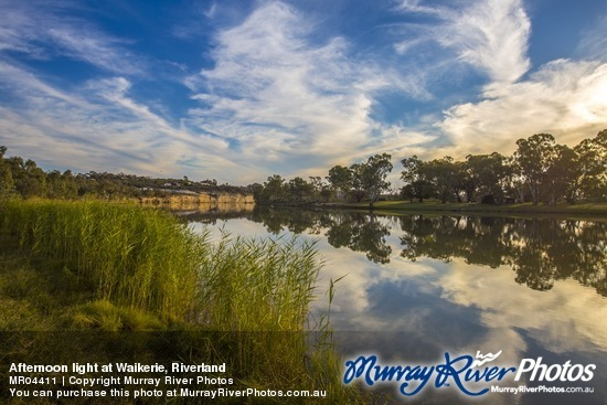 Afternoon light at Waikerie, Riverland