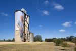 Farmer Nick Hulland on the Patchewollock Silo Art, Victoria
