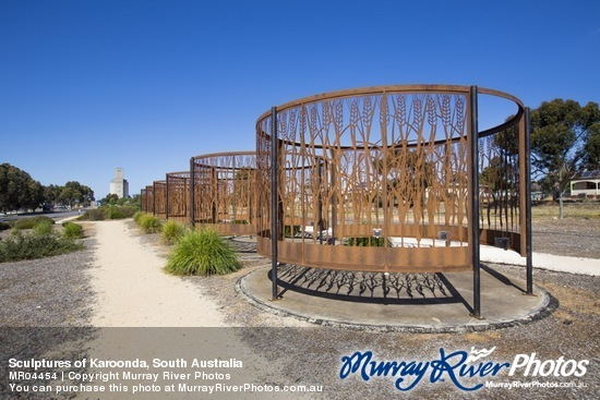 Sculptures of Karoonda, South Australia