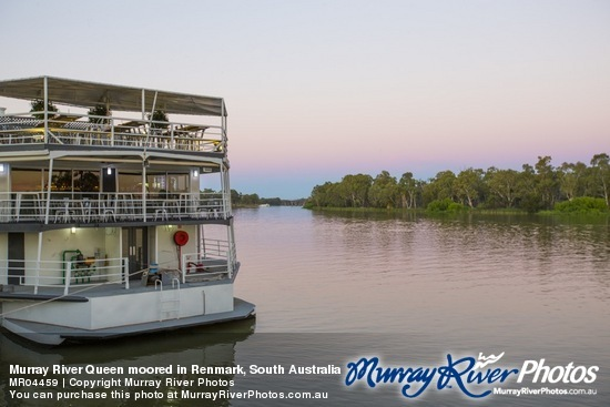Murray River Queen moored in Renmark, South Australia