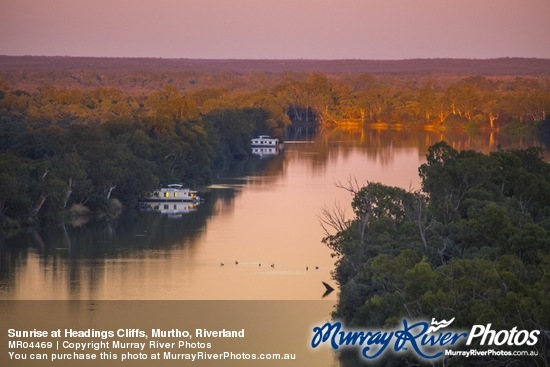 Sunrise at Headings Cliffs, Murtho, Riverland