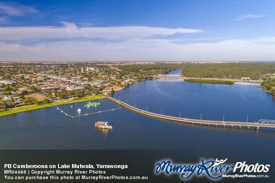 PB Cumberoona on Lake Mulwala, Yarrawonga